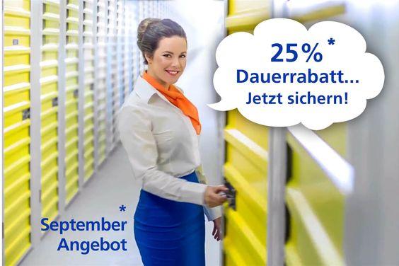Lagerraum mieten in Hannover Waldhausen im September und Dauerrabatt sichern!