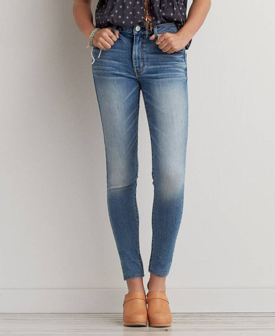 Hi-Rise Jegging (Jeans), Women's, Worn Out Blue | *Clothing ...