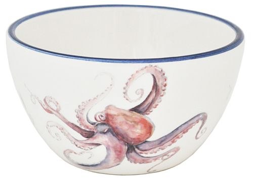 Octopus Soup Bowls - Set of 6