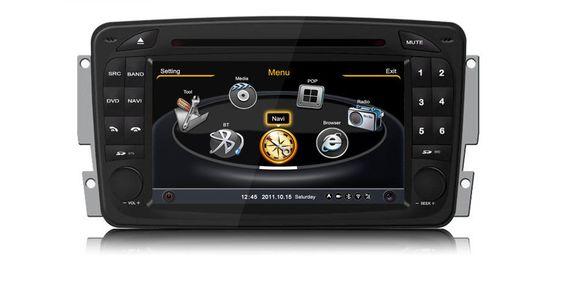Mercedes CLK C Class W203 W639 W209 04 Autoradio Navigation GPS DVD MP3 USB 3D…