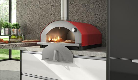 Forno a lenha para pizza, modelo Gourmet