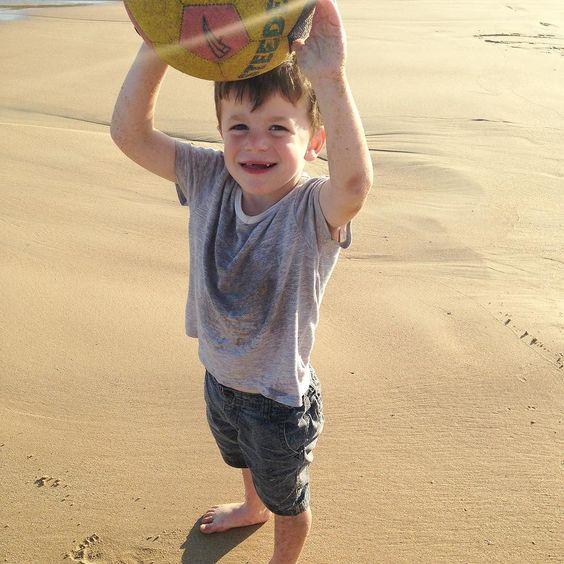 Cooling off at the beach - hello daylight savings!!!! #hopeforislaandjude by hopeforislaandjude