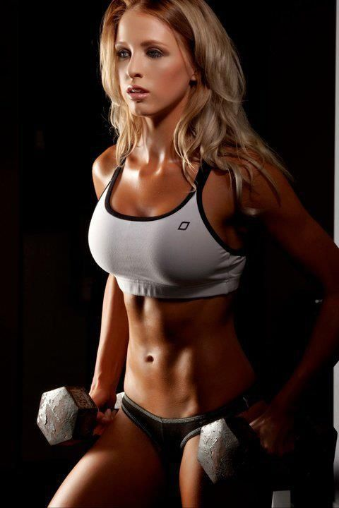 Fitness, Strong fit women and Fit girls on Pinterest