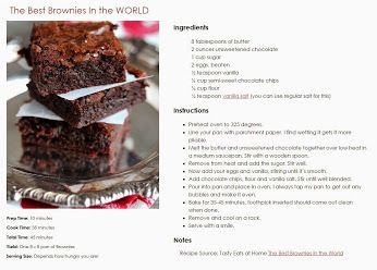 The Best Brownies in the World