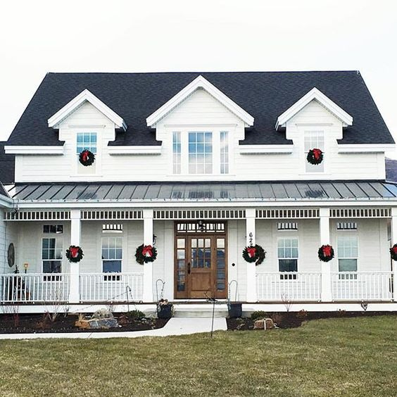 whiteshantydesign  -  Absolutely love this farmhouse in Midway, Utah ❤️ #home #Utah #farm