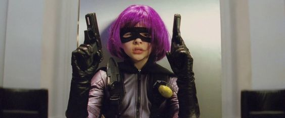Kick-Ass - Internet Movie Firearms Database - Hit Girl prepares to open a can of kick-ass with a USP Compact in her right hand and a SIG-Sauer P232 in her left Find our speedloader now! http://www.amazon.com/shops/raeind