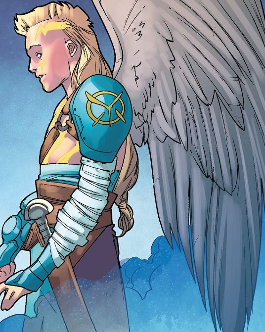 Angel Horseman Of Salvation From Uncanny X Men Vol 5 5 Art By R B Silva Character Art Character Design Comic Art