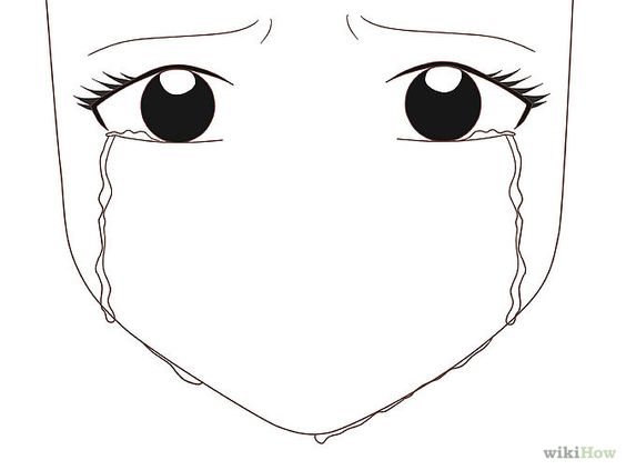 Draw an Anime Eye Crying | How to draw, Search and The o'jays