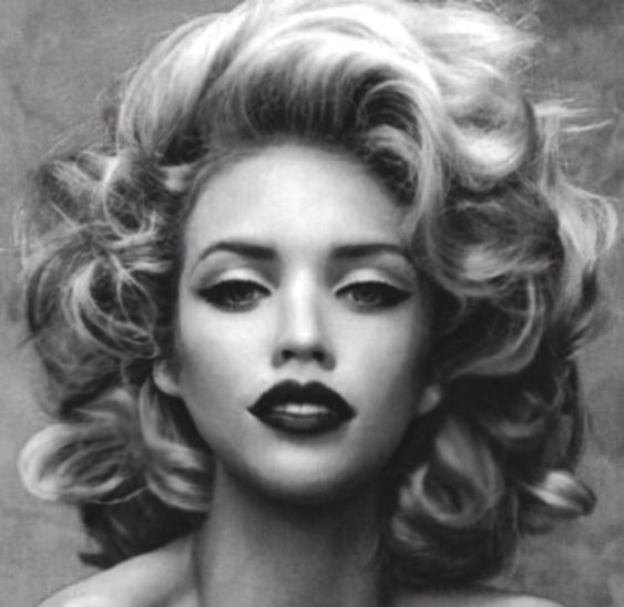 Hair and makeup, old Hollywood
