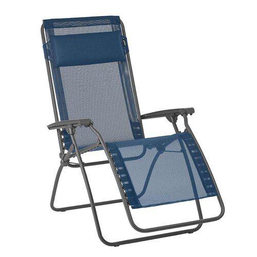 Lafuma Verstellbarer Klappbarer Relaxstuhl In 2020 Lawn Chairs