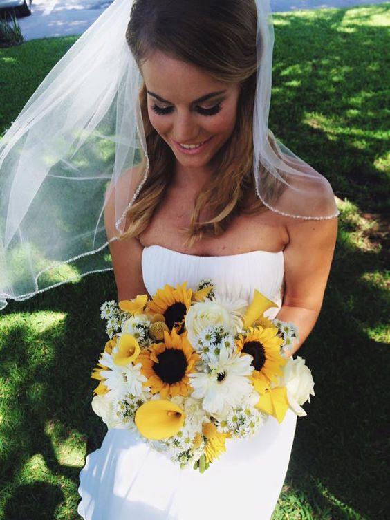 um dia, se eu me casar, quero meu buquê assim