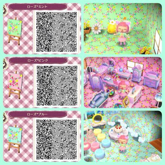 Qr codes animal crossing qr code pinterest motifs de for Wallpaper happy home designer
