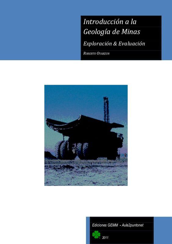 Resultado de imagen de introduccion a la geologia de minas