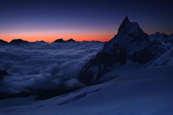 9) A Cold Sundown at Matterhorn