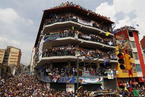 Venezuelan opposition rally