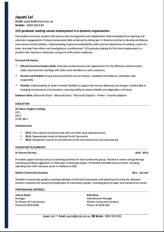 Resume Student No Paid Work Experience -    resumesdesign - salon manager resume