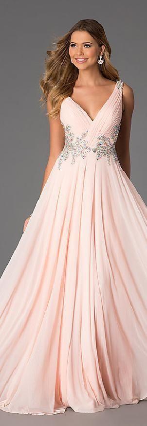 Sexy Chiffon Black Princess V-neck Natural Evening Dress jijidresses16040 #promdress