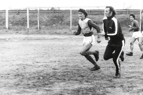 Bauza (Argentina National Team Team Leader) and Menotti (1974-1982´s Team Leader)