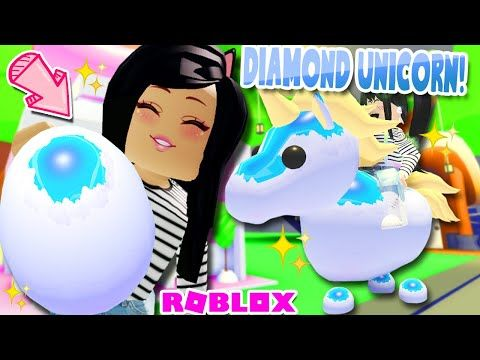 I Can T Believe It S Real Diamond Unicorn Pet In Adopt Me Roblox Youtube In 2020 Unicorn Stuffed Animal Cool Toys For Girls Pets
