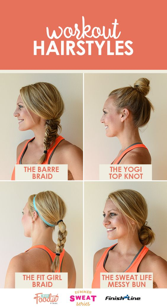 Cute Gym Hairstyles For Long Hair : The best fit girl hairstyles summersweatseries finish