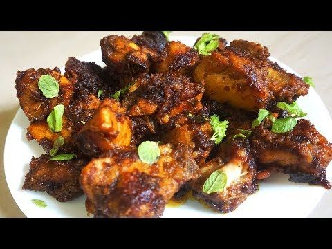 Home Style Spicy Chicken Dry Roast Chicken Dry Fry South Indian Dry Chicken Fry Indian Chicken Recipes Homemade Soup Recipe Crockpot Whole Chicken Recipes