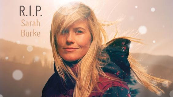 Sarah Burke --   If a chick could be epic, she was.  The angels sing another sweet soul home.