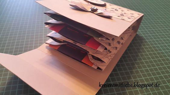 Kreiere mit Liebe - Stempeln, Stanzen, Prägen und Co.: Teebeutelbüchlein mithilfe des Envelope Punch Boards | als Dankeschön oder kleine Aufmerksamkeit
