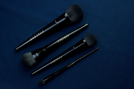 Each brush is uniquely shaped to target specific features on your face, allowing you to glamify your look with ease.   Shop: http://furlesscosmetics.com/foundation-brush-set/