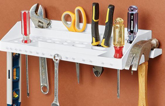 Porta-ferramentas, para acabar com a bagunça