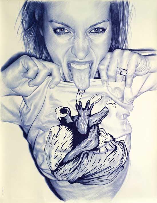 FROMTHEDEEPOFMYHEART#1 | DIBUJO | Juan Francisco Casas