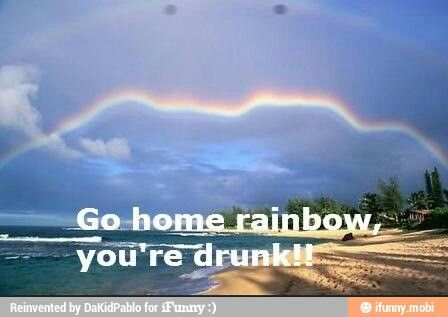 Doctor who. Crack in the wall. This is not a rainbow.