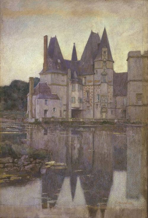 Le chateau d'or - Charles Maundrell 1899 |