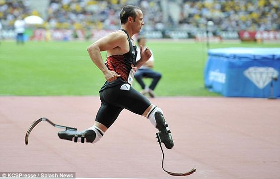 After a long battle to compete with able-bodied athletes, South African double amputee Oscar Pistorius has qualified for the 2012 London Olympics