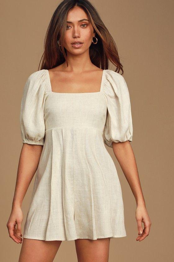 14++ Puffy sleeve dress information