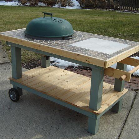 grill cart wsm 18 5 kettle. Black Bedroom Furniture Sets. Home Design Ideas