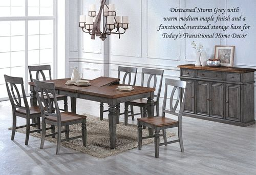 7 Piece Dining Room Set At Marty Rae S Of Orangeburg Dining Table Dining Room Furniture Dining Room Sets