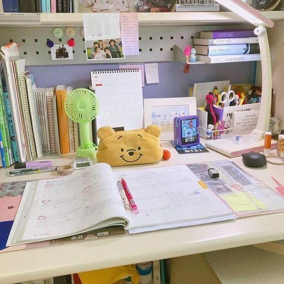 Pin By Astria Putri On Study Notes Goals Study Room Decor Study Desk Study Stationery