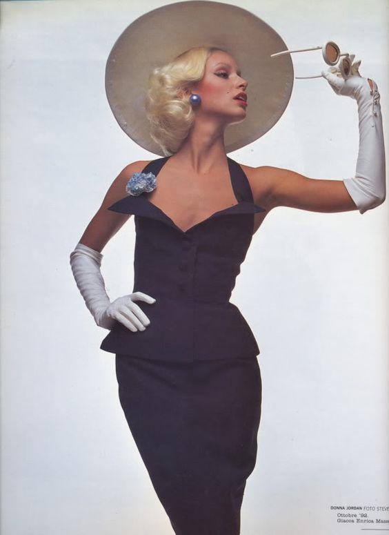 Olivier Toscani, Donna Jordan in Antonelli, Vogue Italia, 1972.