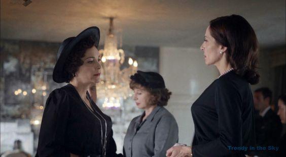 Galerías Velvet Pilar vestido luto. Capítulo 1. Cristina Plazas.