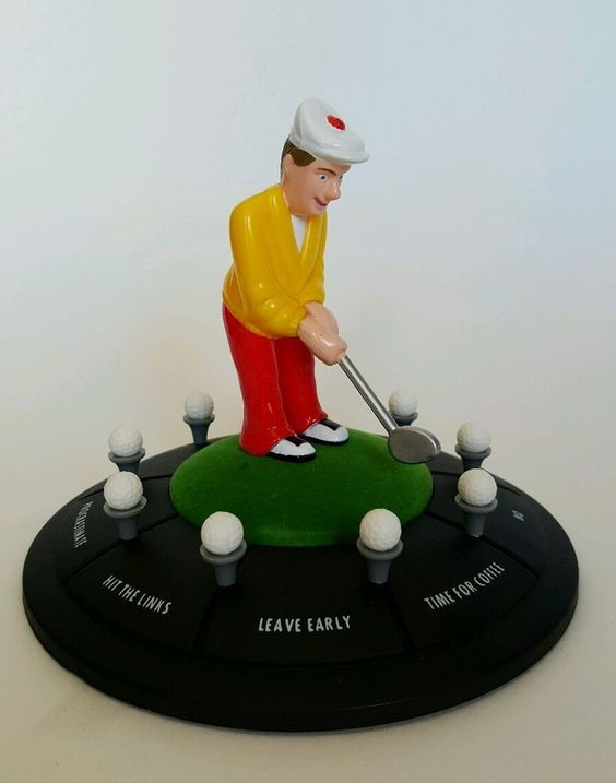 Decision Maker Golfer Desktop Spinner Green Golf Club USA Seller B10-1586 #Wallmart