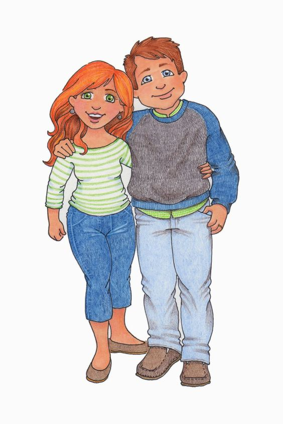 susan fitch design: more family clipart.