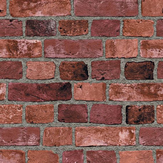 Pinterest the world s catalog of ideas Brick wallpaper home depot