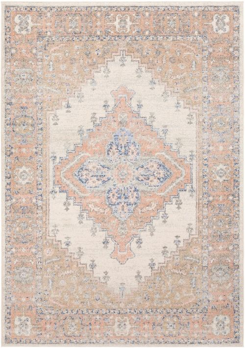 Bedwas Bedwa With Colors Tan Tan Cream Medium Gray Coral Navy Bright Blue Machine Woven 100 Polypropylene Traditional Made In Turke In 2020 Rugs Beige Rug Area Rugs