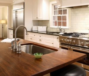 How a wood countertop raises the bar of any kitchen