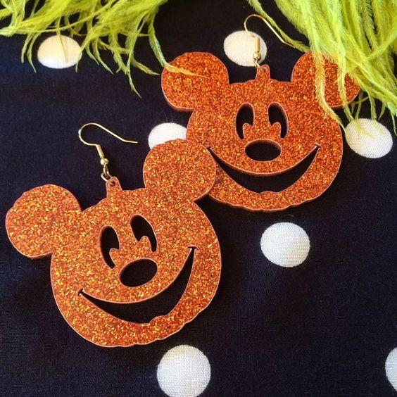 Mickey Mouse Jack O Lantern Pumpkin Acrylic by imyourpresent