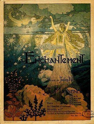 Grasset Swiss 1841 - 1917, Cover design, Enchantment - music ...