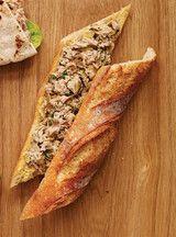 Garniture au thon, artichauts et citron (pour sandwich)