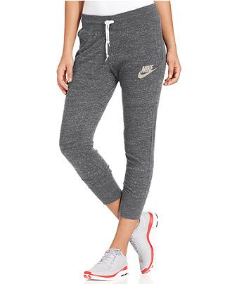 Simple Nike Fleece Sweatpants In Black CARBON HEATHER BLACK  Lyst