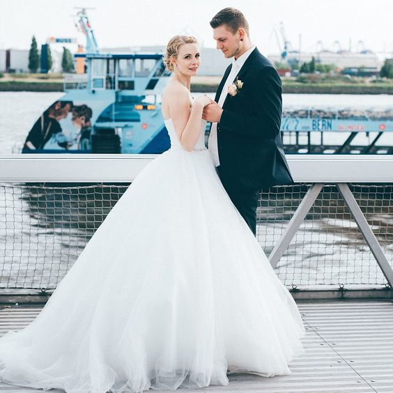 Maritime Hamburg Hochzeit auf dem Schiff