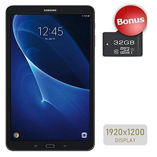 Samsung Galaxy Tab A 10 1 Touchscreen 1920x1200 Wi Fi Tablet Octa Core 1 6ghz Processor 2gb Ram 16gb Memory Dual Cameras Bluetooth 32gb Microsd Card Samsung Galaxy Tab Samsung Galaxy Tab